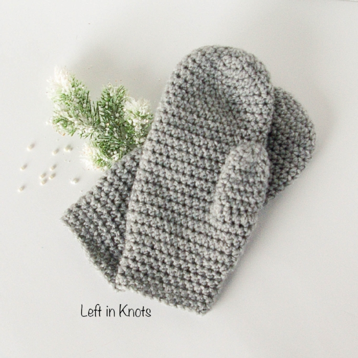 The Perfect Fit Mitten Free Crochet Pattern ? AllCrafts ...
