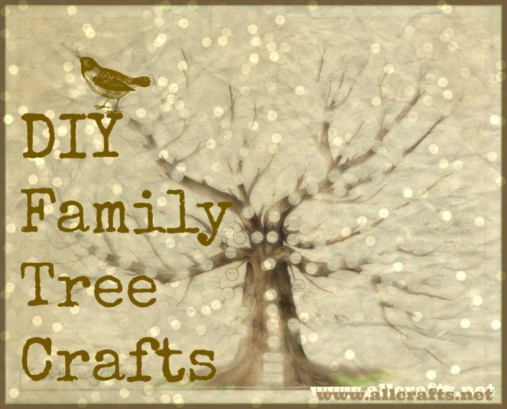 DIY Family Tree Crafts