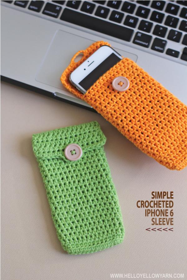 Simple iPhone Sleeve Crochet Pattern