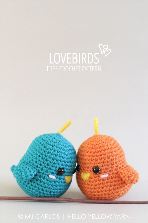 Lovebirds – Free Crochet Amigurumi Pattern – AllCrafts Free Crafts ...