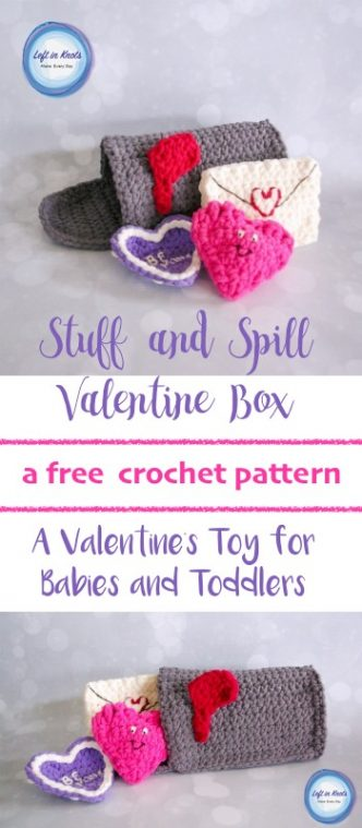 Baby's Valentine Box Crochet Pattern