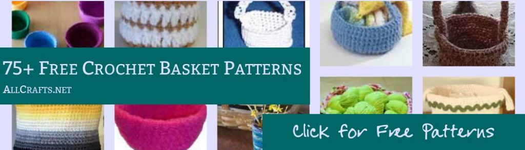 Free Printable Crochet Basket Patterns : Spikes Yarn Basket Free Crochet Pattern ? AllCrafts Free ...