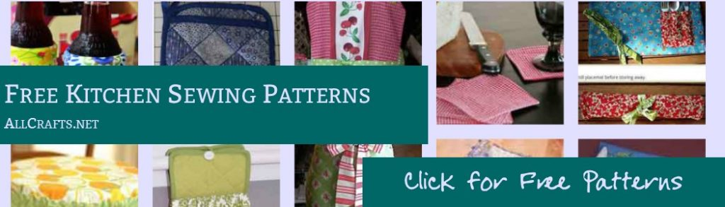 Free Kitchen Sewing Patterns