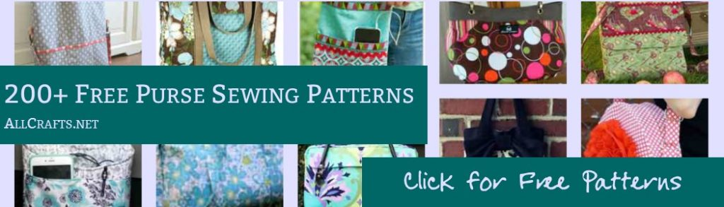 Free Purse and Tote Sewing Patterns