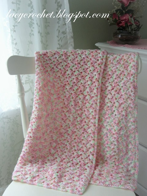 Summer Baby Blanket Free Crochet Pattern