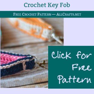 Crochet Key Fob Free Pattern