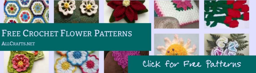 Free Crochet Flower Patterns