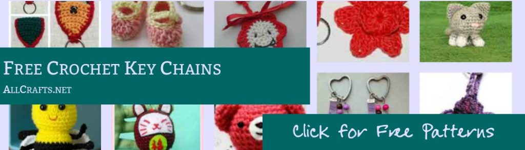 Free Crochet Keychain Patterns