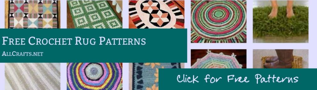 Free Crochet Rug Patterns