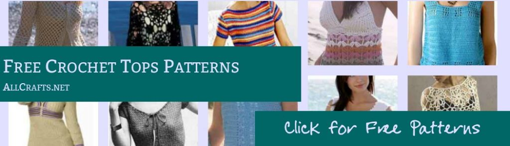 Free Crochet Tops Patterns