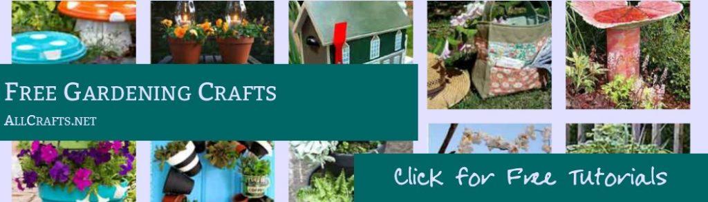 Free Gardening Crafts