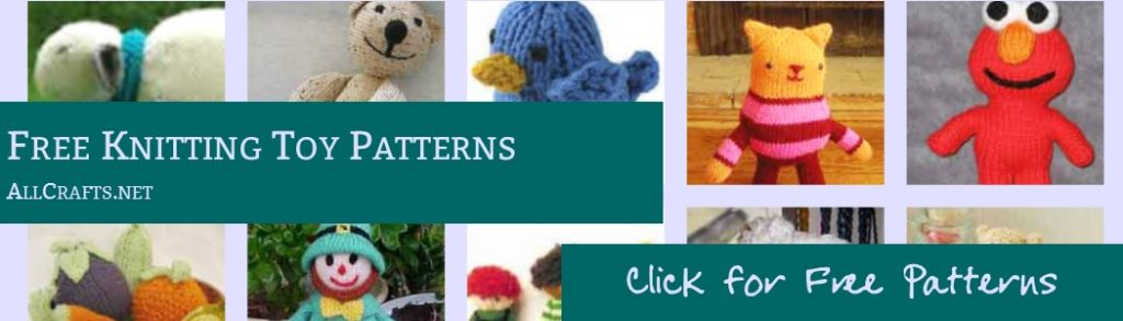 Free Toy Knitting Patterns
