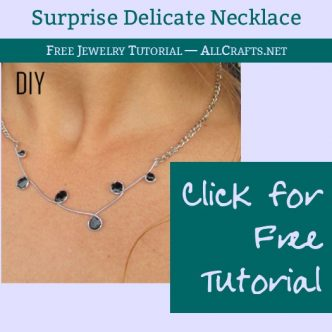 DIY Delicate Necklace
