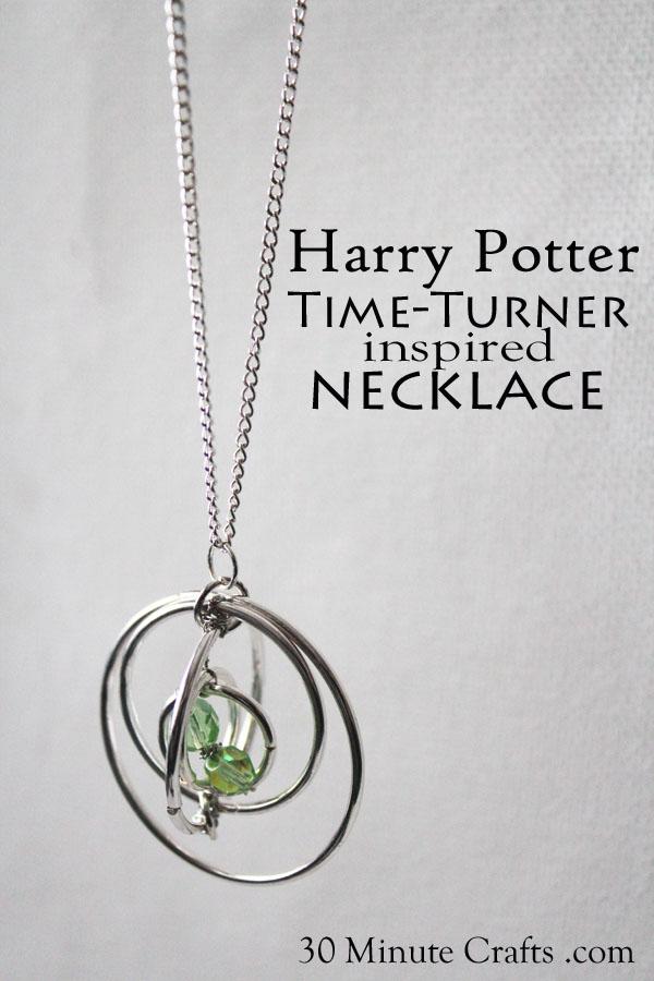Harry Potter Time Turner Necklace Tutorial
