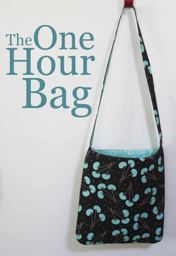 The One Hour Bag Sewing Tutorial