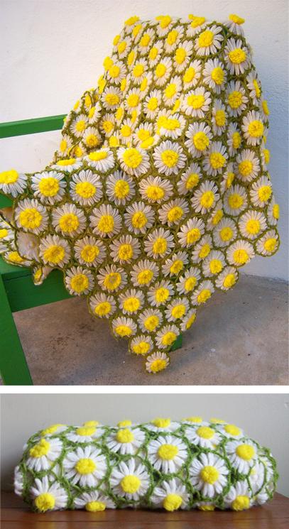 Vintage Daisy Motif Crochet Pattern