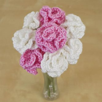 Carnations Free Crochet Pattern