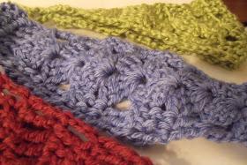 Easy Shell Headband Crochet Pattern