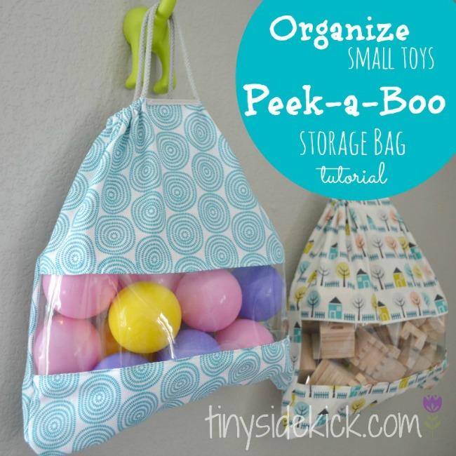 Peek-a-boo Bag Tutorial