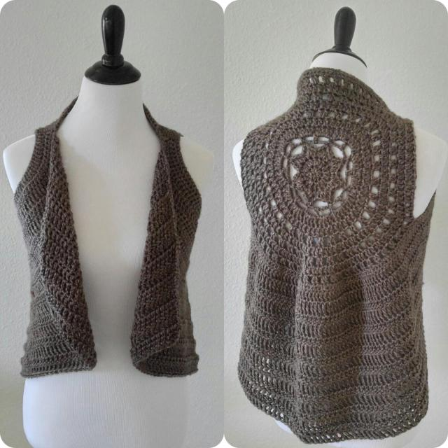 The Taylor Vest Free Crochet Pattern