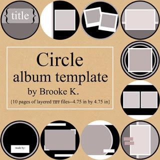Circle Album Template