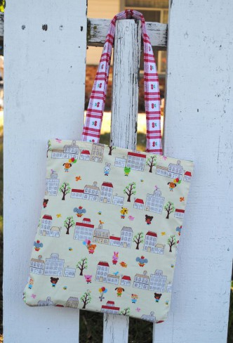 Picnic Blanket Folds into Bag Tutorial