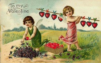 Free Vintage Valentine's Day Images