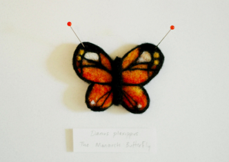 Needle Felted Butterfly Tutorial