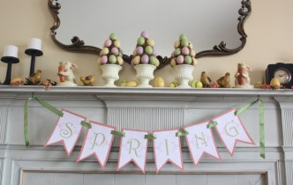 Printable Spring Banner/Bunting