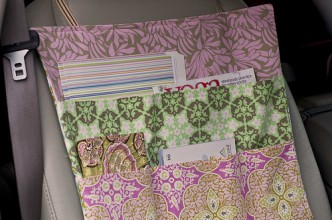 Passenger Seat Car Organizer Sewing Pattern