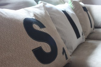 Scrabble Pillows Tutorial