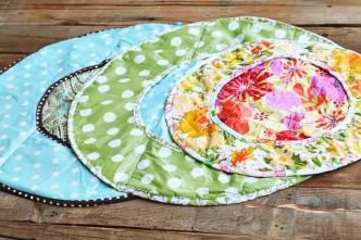 Vinyl diaper changer pattern