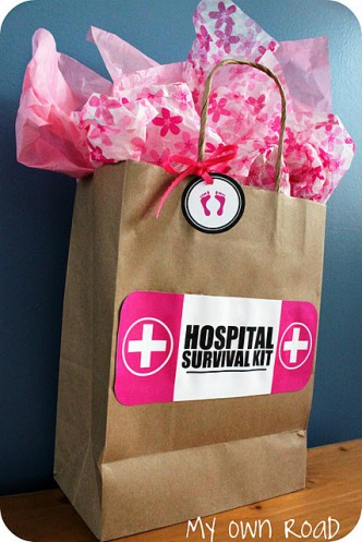 New Mom Hosptial Survival Kit