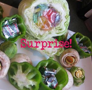 April Fool's Dessert Vegetables