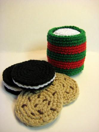 Santa's Cookies Crochet Pattern