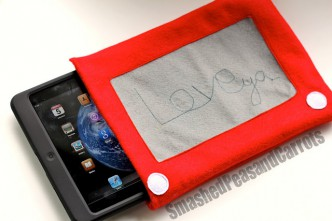 Etch a Sketch Ipad Cover Sewing Tutorial