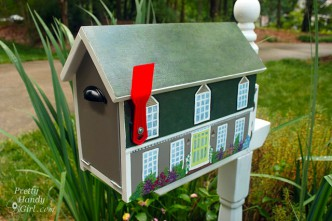 House Shaped Mailbox Tutorial