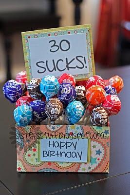 30 Sucks Birthday Gag Gift