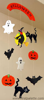 Halloween Mobile Kids' Crafts