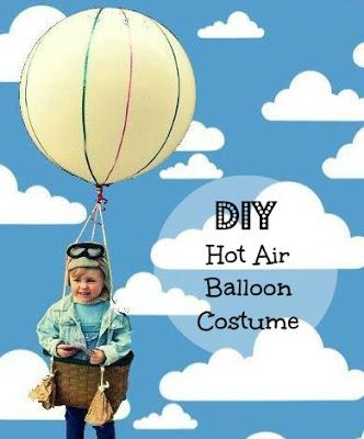 Hot Air Balloon Kids Halloween Costume