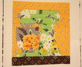 Mixer Free Quilt Block Pattern