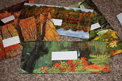 Recycled Calendar Envelopes Tutorial