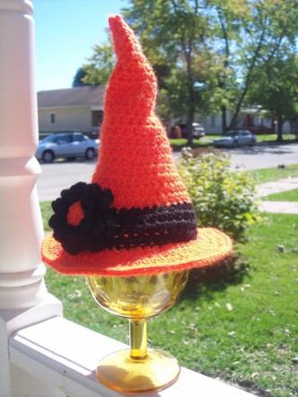 Baby and Toddler Witches Hat Crochet Pattern