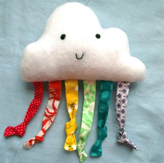 Happy Cloud Baby Toy Sewing Tutorial
