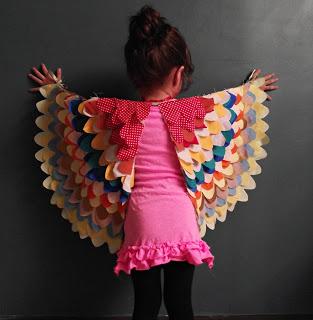 Bird Wings Costume Sewing Tutorial