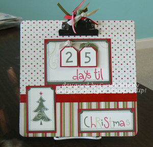Clipboard Advent Calendar Tutorial