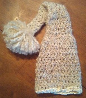 Baby Elf Hat Crochet Pattern