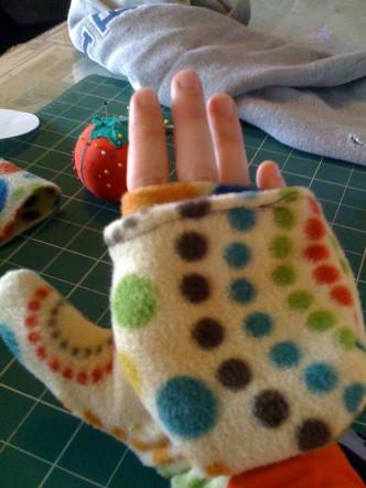 Convertible Mitten Sewing Tutorial