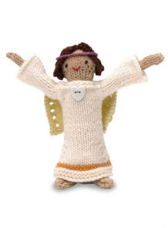 Knitted Angel Doll Free Pattern