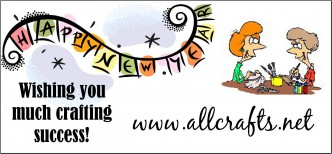 Happy New Year from AllCrafts
